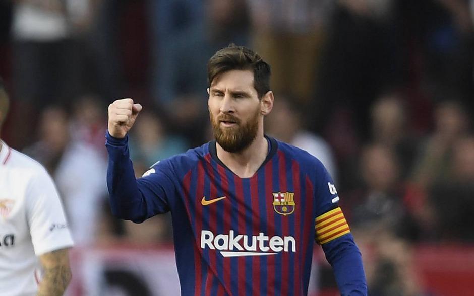 Überragende Vorstellung von Leo Messi.