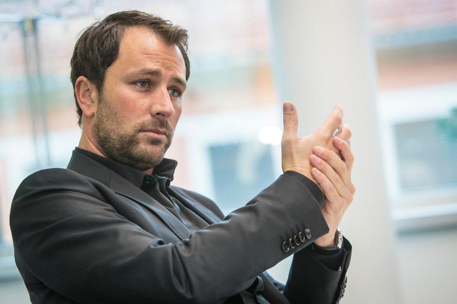 Georg Dornauer ist überzeugt, dass die Tiroler SPÖ hinter ihm steht – und am Parteitag stehen wird.