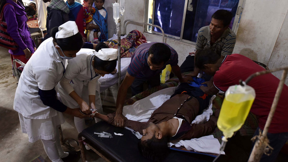 Zwischenzeitlich wurden knapp 300 Menschen wegen der Vergiftungen im Krankenhaus behandelt.