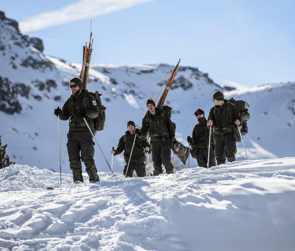 40 Kilometer Wegstrecke, 4000 Höhenmeter und militärische Aufgaben müssen bei dem Wettkampf in den Tuxer Alpen bewältigt werden.