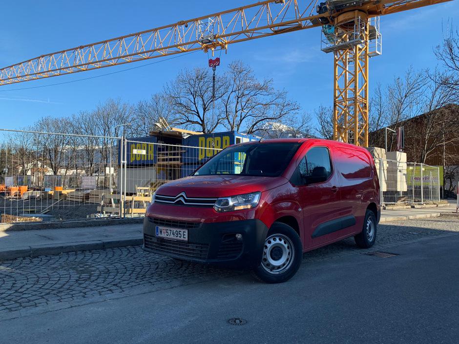 Der Citroën Berlingo sieht nicht nur schick aus, er kann auch richtig anpacken.
