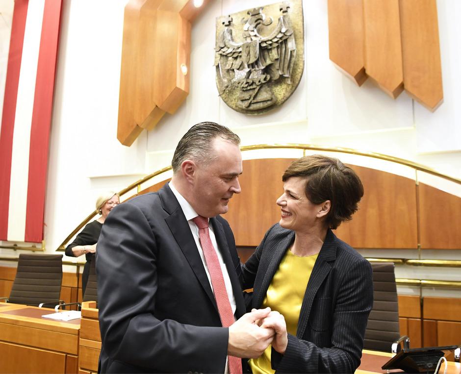 Doskozil und Rendi-Wagner.