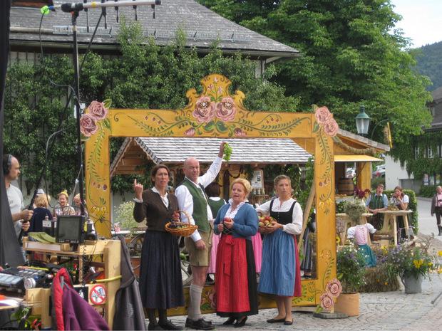 """Vor 15 Jahren wurde Faistenau zum Drehort für die ORF-Serie """"Vier Frauen und ein Todesfall""""."""