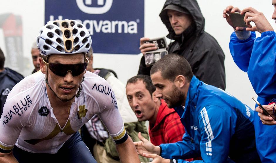 Mit dem Etappensieg bei der Vuelta 2017 feierte Stefan Denifl den größten Erfolg seiner Karriere.