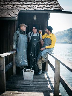 """""""Fisch ahoi!"""" Die Sendung zur Verarbeitung und Konservierung von heimischem Fisch läuft bis Ende März auf ORF 1 (Dienstag, 22.55 Uhr)."""