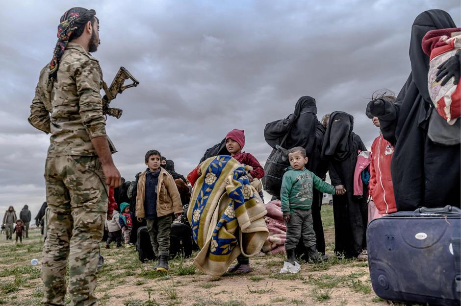 Nicht alle Menschen haben die Strapazen der Flucht in Syrien überlebt.