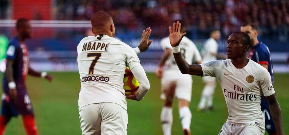 Kylian Mbappe spielt zurzeit in Topform auf, schoss PSG zuletzt bei Caen mit zwei Toren zum 2:1-Sieg.
