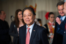 Malaysiens Tourismusminister Datuk Mohammaddin bin Ketapi