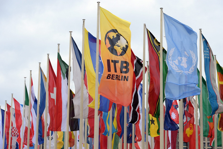 Internationalen Tourismusbörse (ITB) in Berlin.