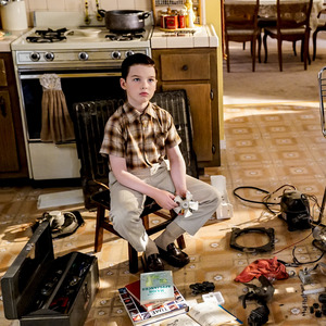 "Iain Armitage in ""Young Sheldon""."