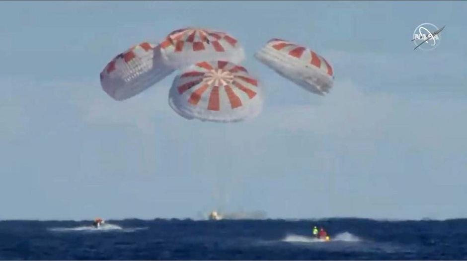 Mit der Landung hat SpaceX der NASA bewiesen, dass das Unternehmen in der Lage ist, eine bemannte Raumfahrtmission zu realisieren.