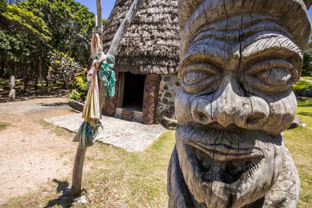 Die Kultur der Ureinwohner wird im Centre Tjibaou präsentiert.