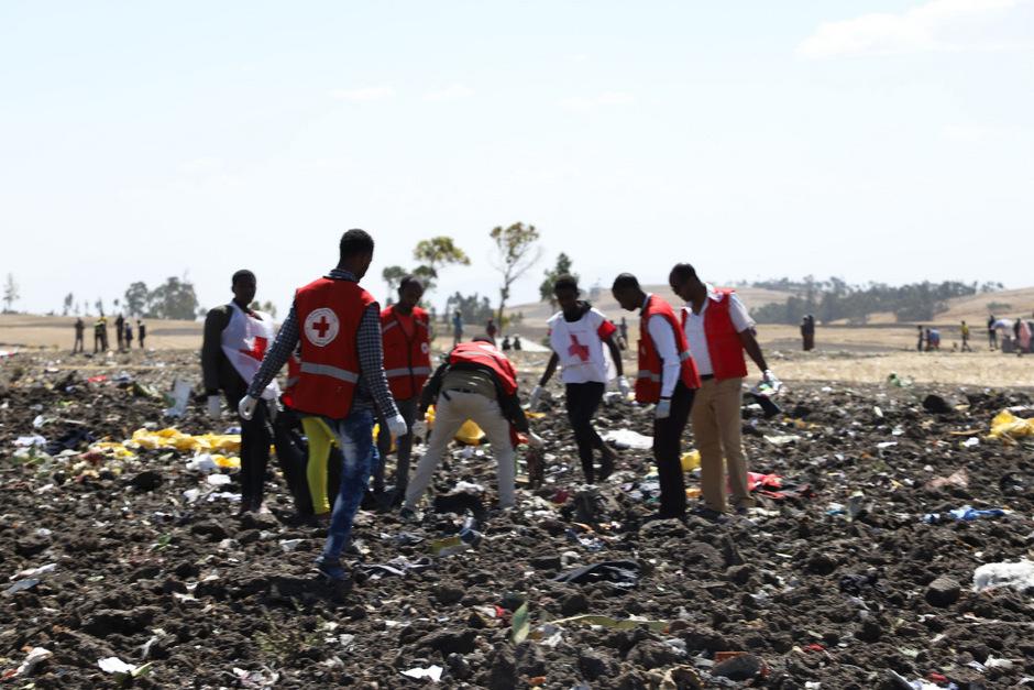 Beim Absturz einer Boeing 737 der Fluggesellschaft Ethiopian Airlines gibt es keine Überlebenden.