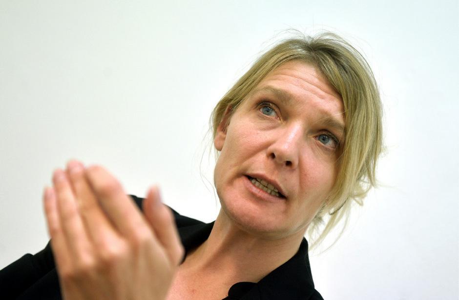 JETZT-Chefin Maria Stern.