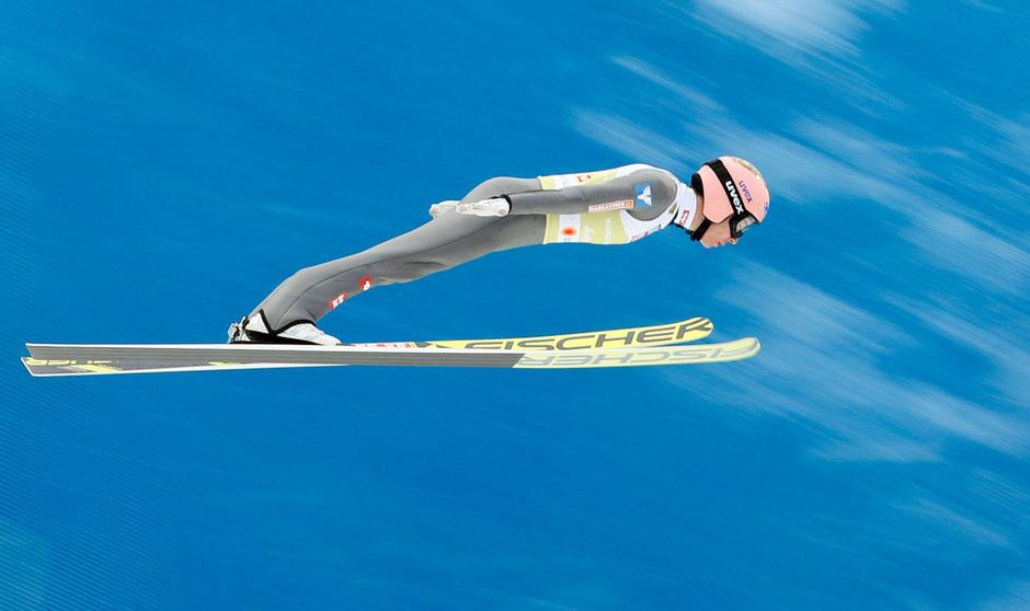 ÖSV-Skispringer Stefan Kraft flog in Oslo auf Rang zwei.