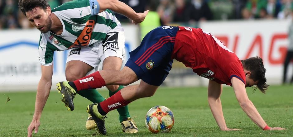 Thomas Murg und Rapid gerieten in Mattersburg ins Straucheln.