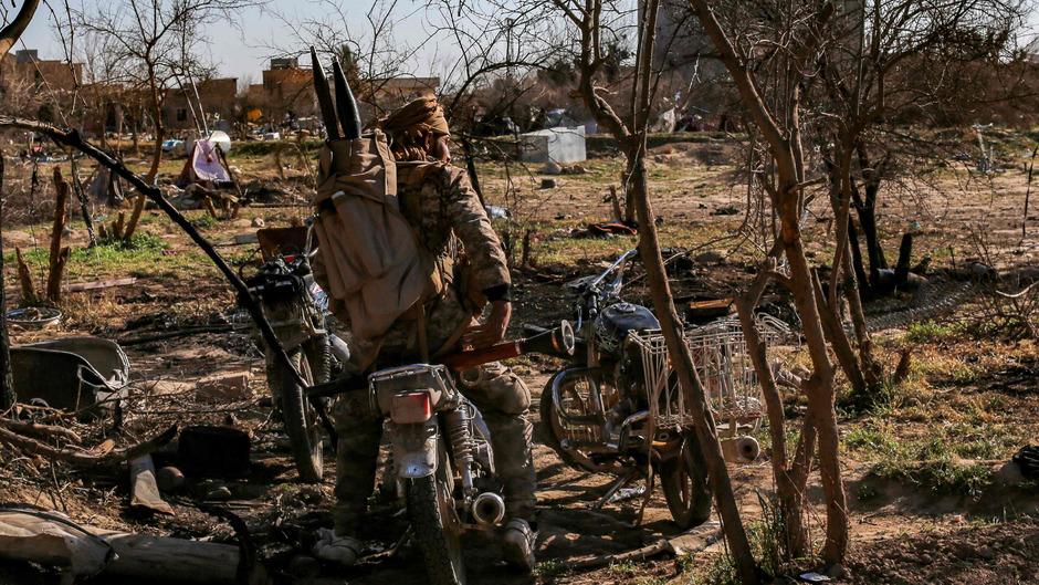 Die Kämpfer der  Syrischen Demokratischen Kräfte (SDF) haben den finalen Angriff auf die IS-Bastion Baghouz gestartet.