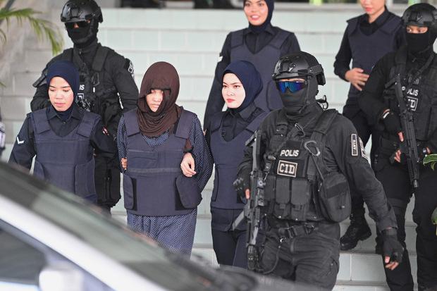 Doan Thi Huong wurde nach dem Verhör wieder ins Gefängnis gebracht.
