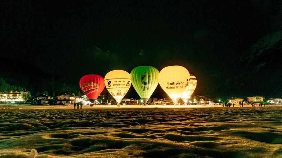Diese Woche finden in Achenkirch wieder die beliebten Ballontage statt. Morgen wird bei freiem Eintritt zum Nightglow geladen.