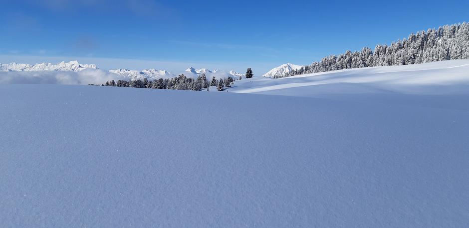 """""""Feldringer Böden und Schafjoch sollten als Naturjuwel und Skitourengebiet unangetastet bleiben"""", fordert die Bürgerinitiative um Gerd Estermann, deren Petition schon mehr als 15.000 Unterstützer zählt."""