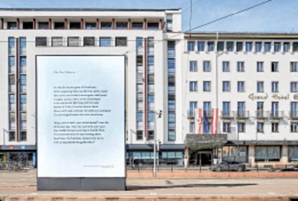 """In der Wörgler Galerie am Polylog: Heidrun Sandbichlers Zeichnung der """"Fig. 63"""" im Rahmen ihrer Personale """"Quellen und Verweise""""."""