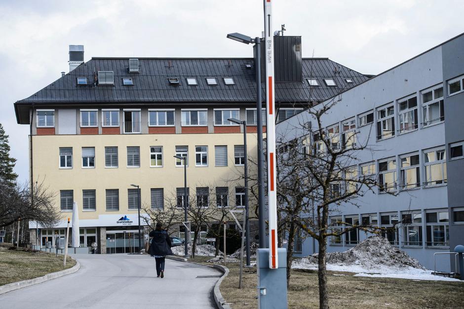 Das Landeskrankenhaus in Natters.