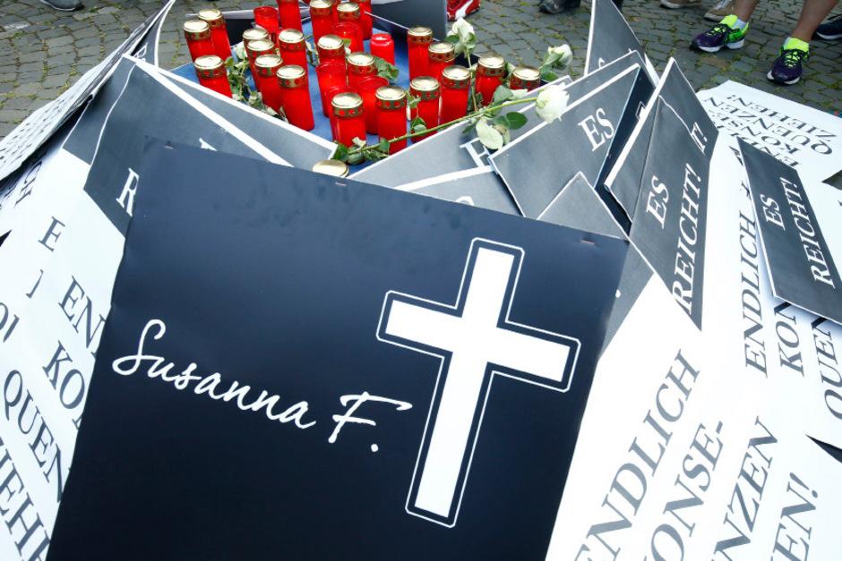Susanna wurde vergewaltigt und erstochen. Nach ihrem Tod gab es in Mainz wütende Proteste.