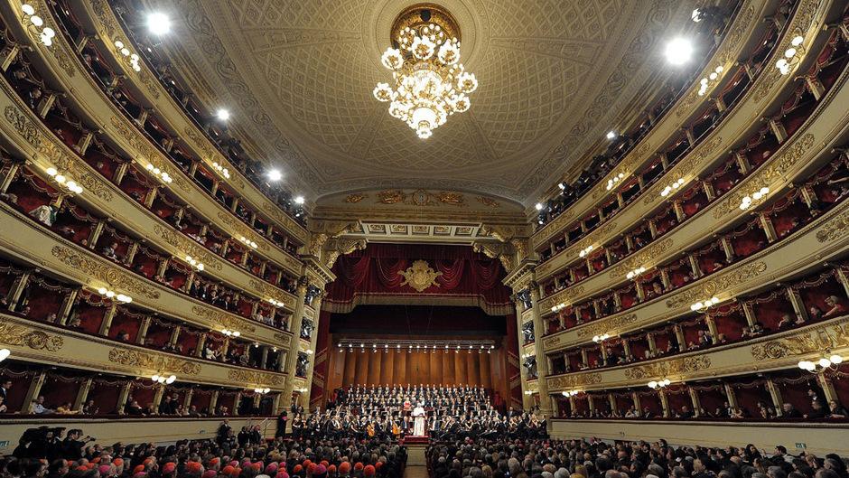 Die Mailänder Scala gehört zu den renommiertesten Opernhäusern der Welt.