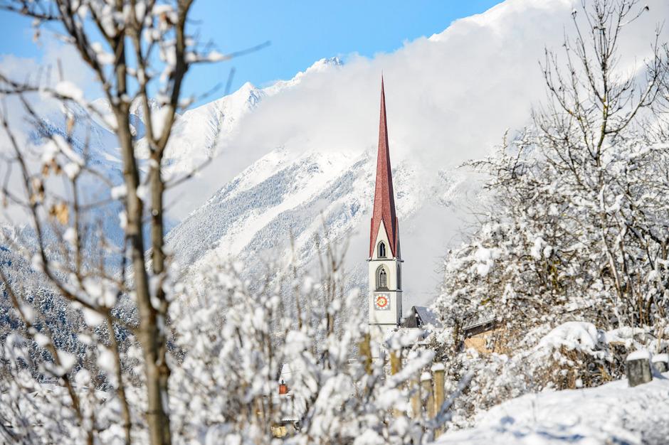 Auf Sturm Und Schnee Folgte Sonne Tirol Als U201eWinter