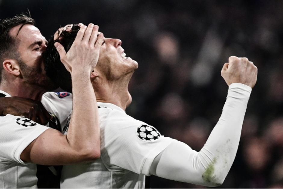 Jubel bei Cristiano Ronaldo und Juventus Turin.