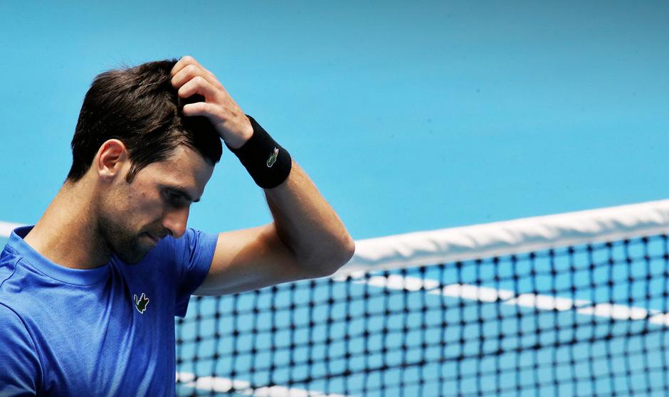 Novak Djokovic musste beim Masters-Turnier in Indian Wells vorzeitig die Segel streichen.