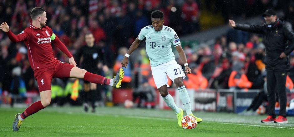 ÖFB-Teamspieler David Alaba sollte rechtzeitig für den großen CL-Schlager gegen Liverpool fit werden.