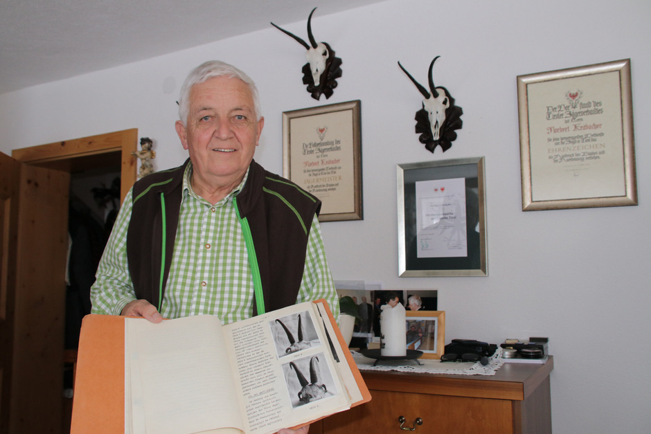 Der erfahrene Jägermeister Norbert Krabacher wird Jagdleiter der Tiroler Landesjagd Pitztal.