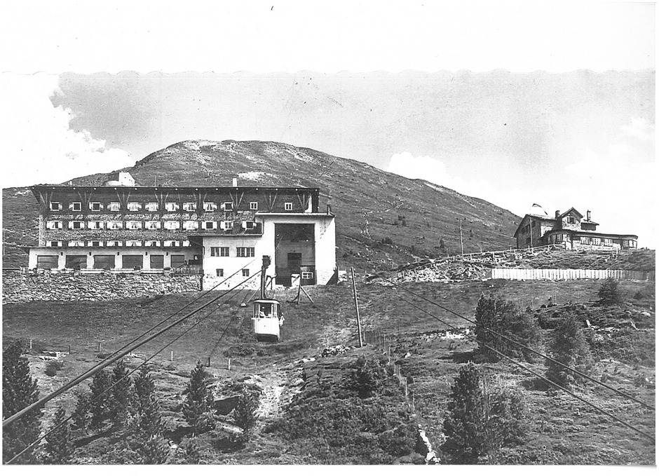Die bewegte Geschichte der 1928 eröffneten Patscherkofelbahn steht im Fokus eines Filmbeitrags von Christoph Weingartner.