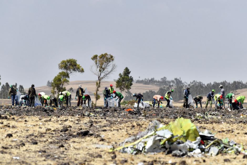 Am Sonntag stürzte in Äthiopien eine Boeing 737 Max 8 kurz nach dem Start ab und zerschellte am Boden. 157 Menschen starben.