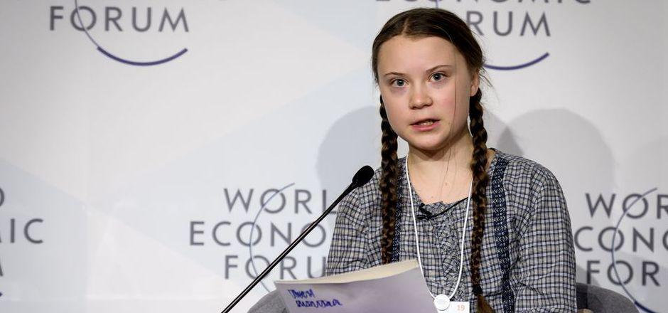 Die schwedische Schülerin Greta Thunberg hält den Mächtigen den Spiegel vor. Sie hielt etwa auf der Jahrestagung des Weltwirtschaftsforums in Davos eine Rede.