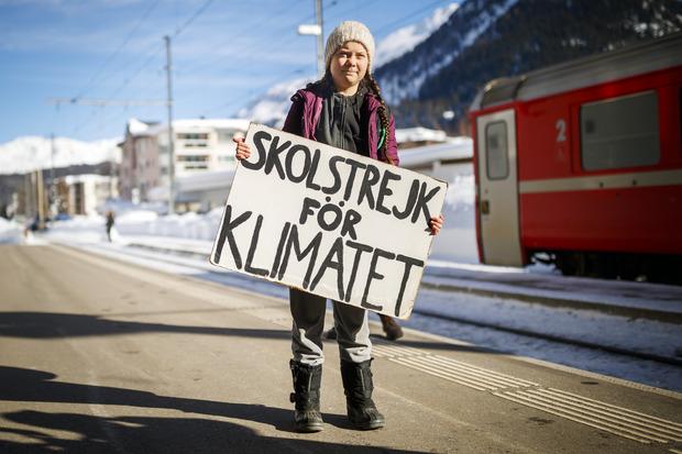 """Mit ihrem """"Schulstreik für das Klima"""" hat Greta Thunberg eine internationale Protestbewegung angestoßen."""