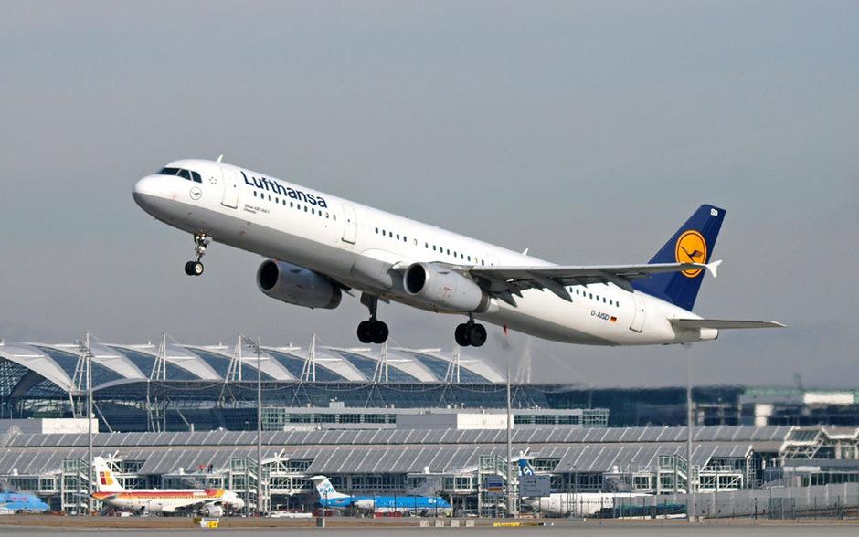 Eine Lufthansa-Maschine am Flughafen München (Symbolfoto).