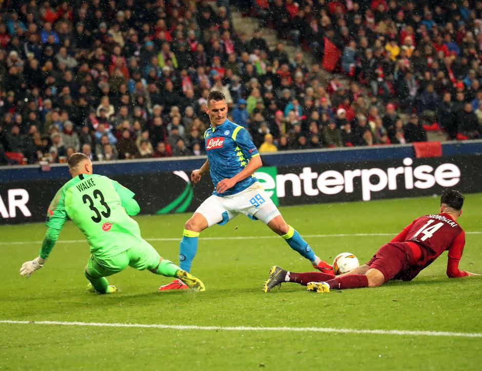Gegen die Nummer zwei im italienischen Fußball war Österreichs Meister speziell in der zweiten Hälfte die bessere Mannschaft.