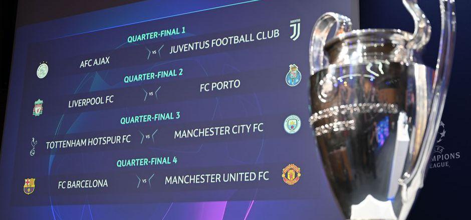 Das Champions-League-Viertelfinale wurde in Nyon ausgelost.