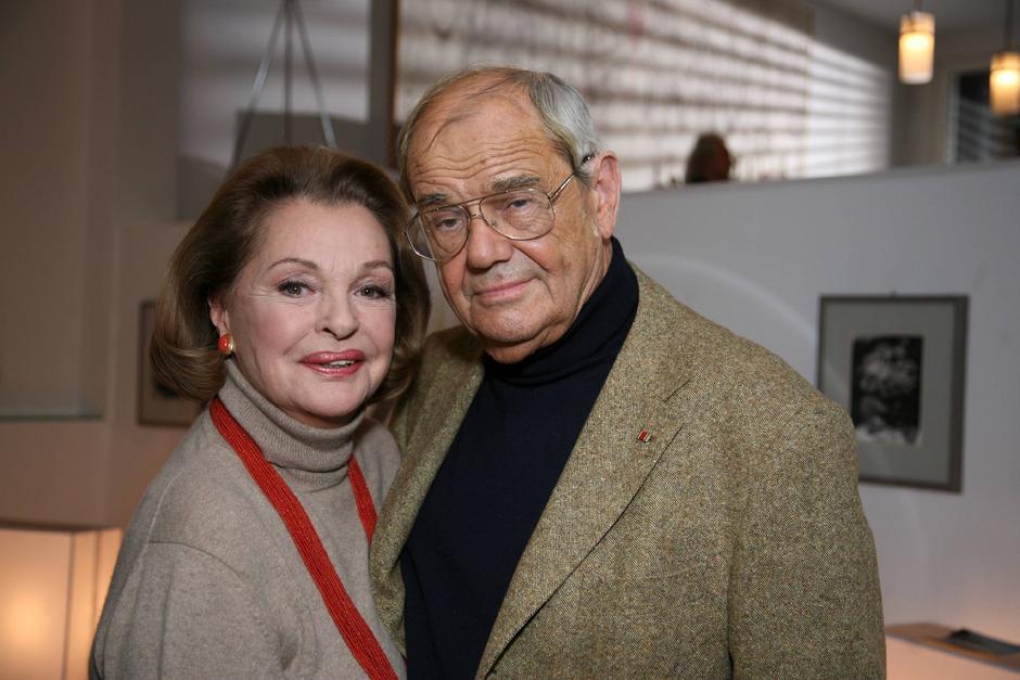 Nadja Tiller und Walter Giller († 2011) waren 55 Jahre lang verheiratet und das Glamourpaar der Wirtschaftswunderzeit.