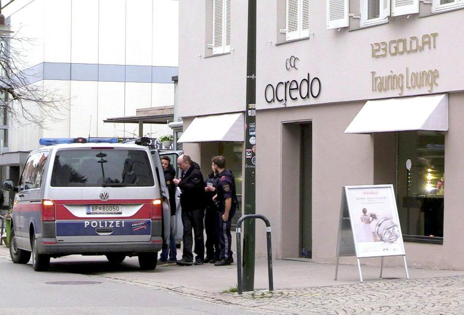 Das Juwelier-Geschäft in der Dornbirner Innenstadt.