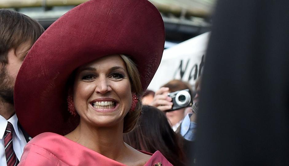 Die niederländische Königin Máxima.