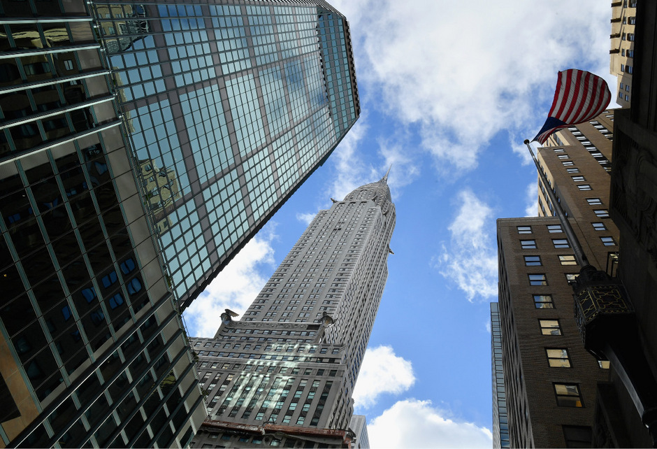 Das Chrysler Building wurde 1930 eingeweiht.