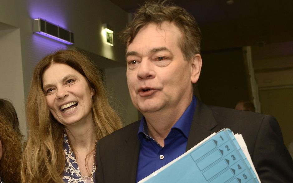 Die Grünen setzen bei der EU-Wahl im Mai auf Werner Kogler und Sarah Wiener.
