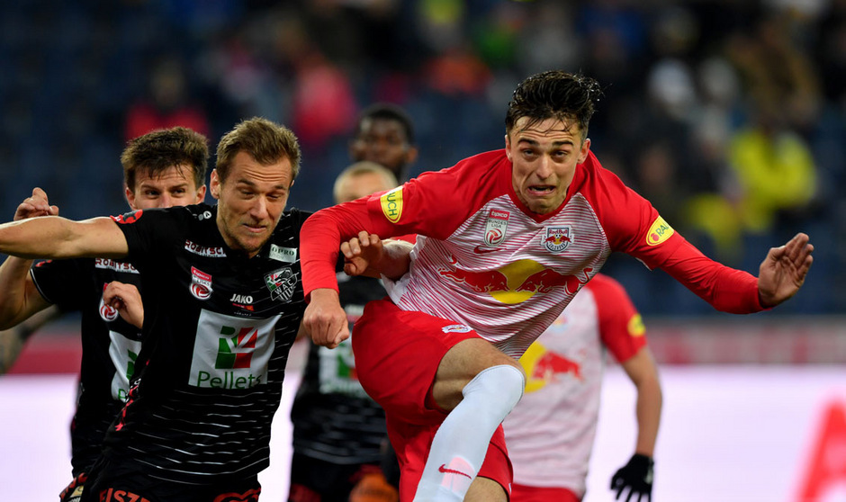 Ex-Wacker-Kicker Albert Vallci kehrt mit Salzburg erstmals ins Tivoli zurück.