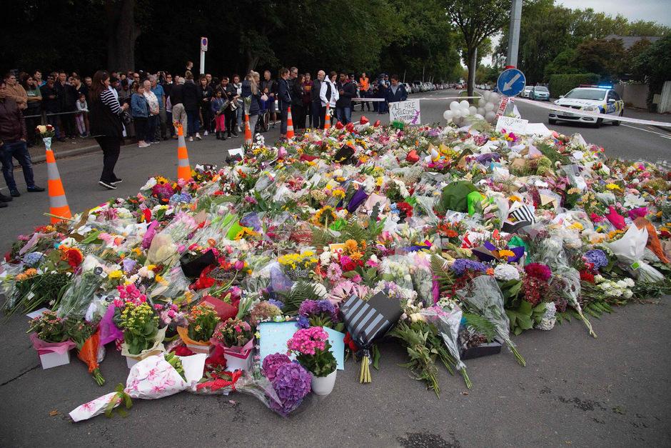 Die Anteilnahme in Christchurch ist groß.