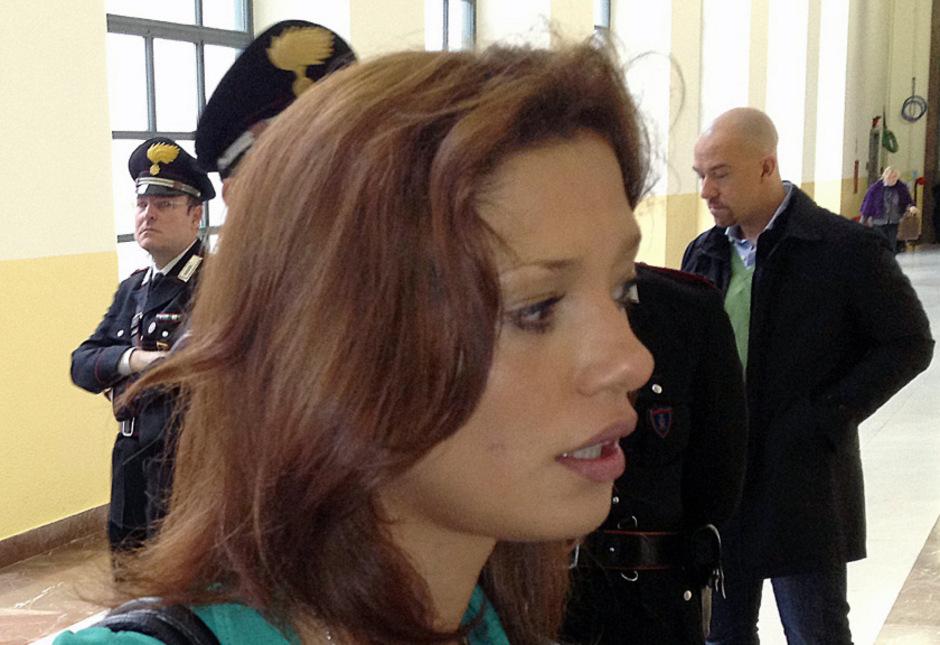 Iman Fadil während des Prozesses gegen Silvio Berlusconi im Jahr 2012. (Archivfoto)