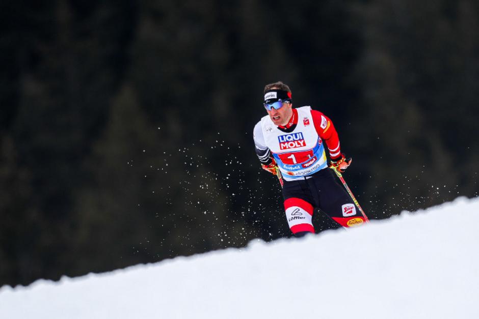 Zum Saisonabschluss noch einmal auf dem Podest: Bernhard Gruber.