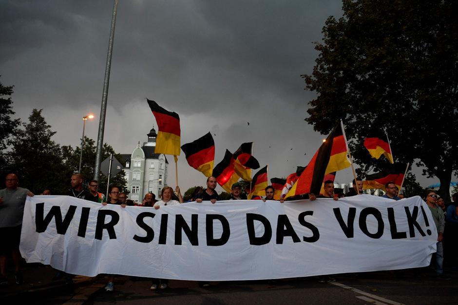 Nach dem tötlichen Messerattacke kam es in Chemnitz und anderen ostdeutschen Städten zu - teils gewalttätigen - Protesten.